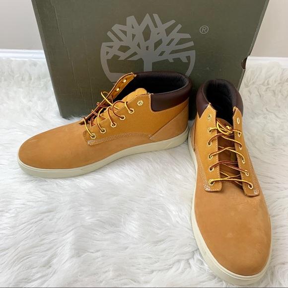 TIMBERLAND Mens Groveton Chukka Boots Wheat 12 NIB NWT